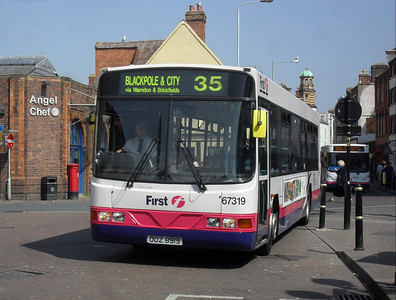 67319 - ODZ8919 - Worcester (Angel Place) - 20.4.11