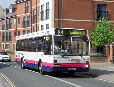 67254 - M254MRW - Worcester (The Butts) - 20.4.11