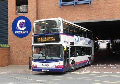 33402 - VX54MTY - Worcester (bus station) - 28.8.12