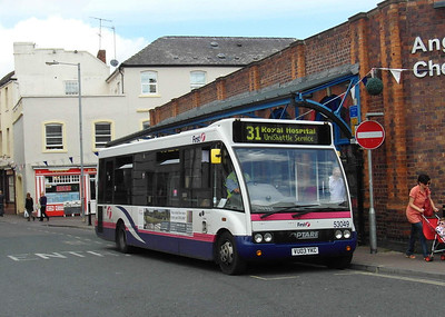 53049 - VU03YKC - Worcester (Angel Place) - 28.8.12