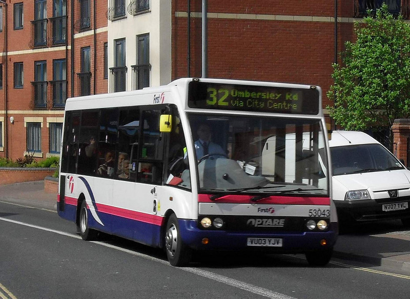 53043 - VU03YJV - Worcester (The Butts) - 20.4.11