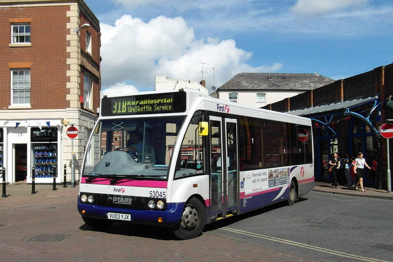 53045 - VU03YJX - Worcester (Angel Place) - 28.8.12