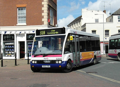 53051 - VU03YKE - Worcester (Angel Place) - 28.8.12