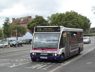 50281 - W312DWX - Worcester (North Quay) - 28.8.12
