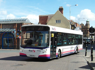 67648 - VX54MTJ - Worcester (Angel Place) - 28.8.12