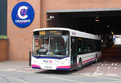 67660 - VX05LWD - Worcester (bus station) - 28.8.12