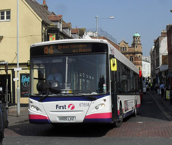 67658 - VX05LVZ - Worcester (Angel Place) - 20.4.11