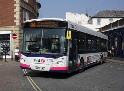 67659 - VX05LWC - Worcester (Angel Place) - 20.4.11