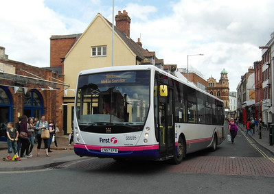 66695 - CN57EFB - Worcester (Angel Place) - 28.8.12