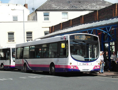 66979 - KX05MHF - Worcester (Angel Place) - 28.8.12