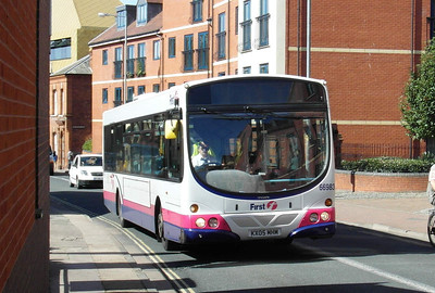 66983 - KX05MHM - Worcester (The Butts) - 28.8.12