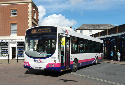 66984 - KX05MHN - Worcester (Angel Place) - 28.8.12