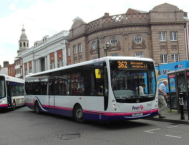66697 - CN57EFF - Worcester (Angel Place) - 28.8.12