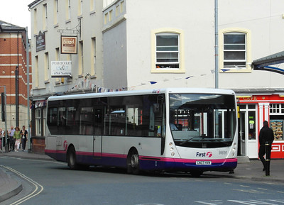 66699 - CN07HVM - Worcester (Angel Place) - 28.8.12