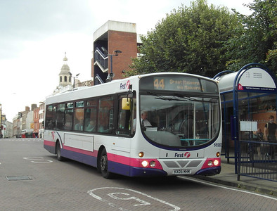 66983 - KX05MHM - Worcester (bus station) - 28.8.12