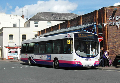66980 - KX05MHJ - Worcester (Angel Place) - 28.8.12