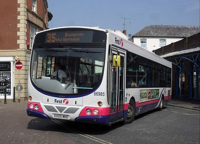 66985 - KX05MHO - Worcester (Angel Place) - 20.4.11