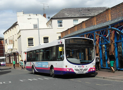 66985 - KX05MHO - Worcester (Angel Place) - 28.8.12
