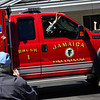 KRISTOPHER RADDER — BRATTLEBORO REFORMER<br /> Residents of Valley Cares, in Townshend, Vt., watch as the parade made up of first responders goes by to raise the spirits of those staying there during the COVID-19 pandemic on Tuesday, April 28, 2020.