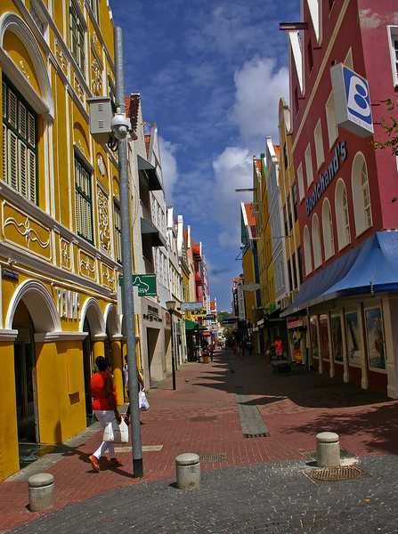 Dowmtown area of Willemstad, Punta section