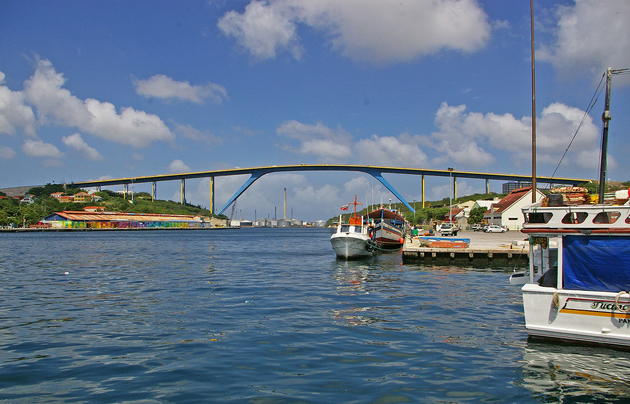 The  highest bridge in the Caribean, Willemstadt, Curacao