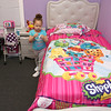 Denisa Mena has completed a first-time homebuyer class offered by the Merrimack Valley Housing Partnership and is now living in the fruits of her efforts, with her two kids. Mena's daughter Emily Suero, 3, plays in her new bedroom on Friday afternoon. SUN/JOHN LOVE
