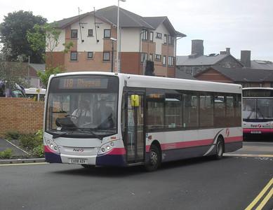 44504 - CU08ADV - Swansea (bus station) - 2.8.11