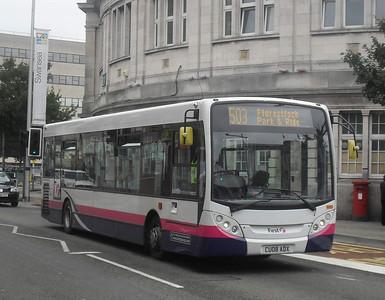 44505 - CU08ADX - Swansea (rail station) - 2.8.11
