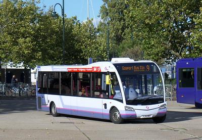53604 - YJ14BKF - Gosport (bus station) - 11.10.14