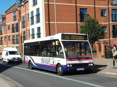 53040 - VU02PKX - Worcester (The Butts) - 28.8.12