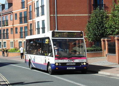 50281 - W312DWX - Worcester (The Butts) - 28.8.12