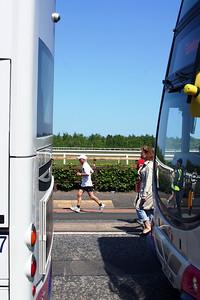 Geminis frame a runner