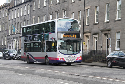 37273 westbound on Queen Street as a result of the diversion from George Street due to the Spiegelgarden