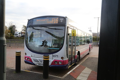 65711 - think this was my first chariot collecting fares on a 38 back in the day