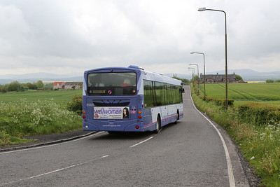 69405 heads downhill for Broxburn