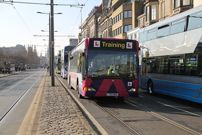 64004 LT02 NUA is a Livingston training bus
