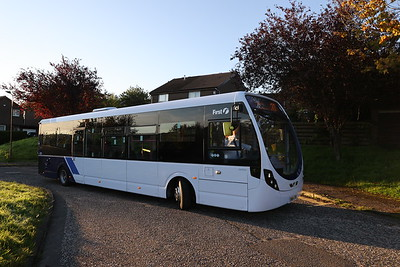 63241 SN64CKK at Hallcroft Park forming the first First departure 31st August 2020