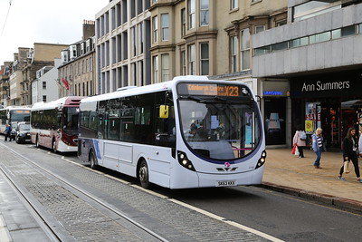 47460 SK63 KKX always catches the eye with the AC pod. Less usual in town in my experience