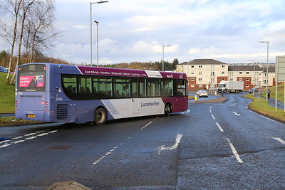 67856 SN13 EEX departs Hairmyres Hospital 19th December 2019