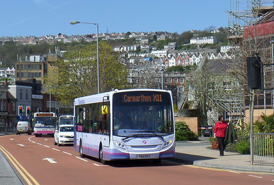 44627 - YX14RVY - Swansea (bus station) - 14.4.14