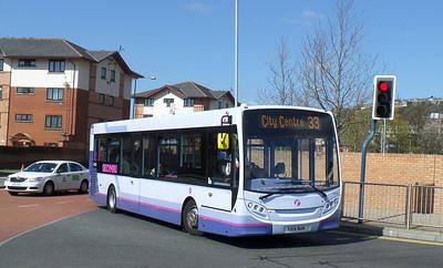 44603 - YX14RUH - Swansea (bus station) - 14.4.14