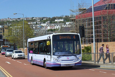 44604 - YX14RUJ - Swansea (bus station) - 14.4.14