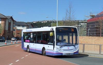 44581 - YX13BNN - Swansea (bus station) - 14.4.14