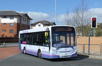 44554 - YX13AEY - Swansea (bus station) - 14.4.14