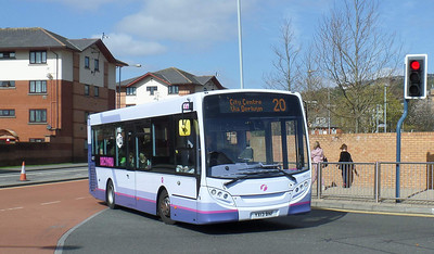 44577 - YX13BNF - Swansea (bus station) - 14.4.14