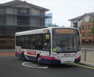 44920 - YX09AHG - Swansea (bus station) - 2.8.11