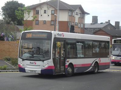 44915 - YX09AHA - Swansea (bus station) - 2.8.11