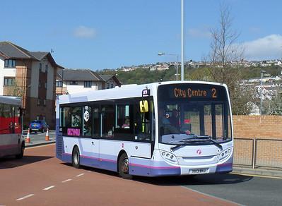 44578 - YX13BNJ - Swansea (bus station) - 14.4.14