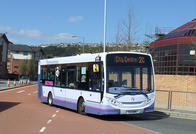 44579 - YX13BNK - Swansea (bus station) - 14.4.14