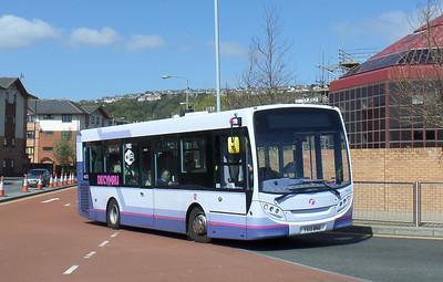 44575 - YX13BND - Swansea (bus station) - 14.4.14